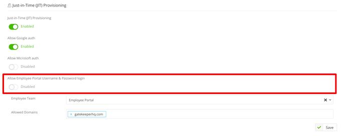 JIT Employee Portal login