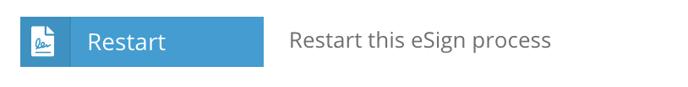 Restart eSign
