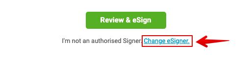 eSign Email   Change Signer