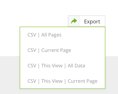 new csv options